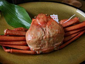 紅ズワイガニ、あっさりと美味しいですよ☆
