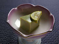 濃厚な味わい、カニみそ豆腐です。