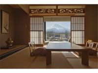 富士山一望の和室